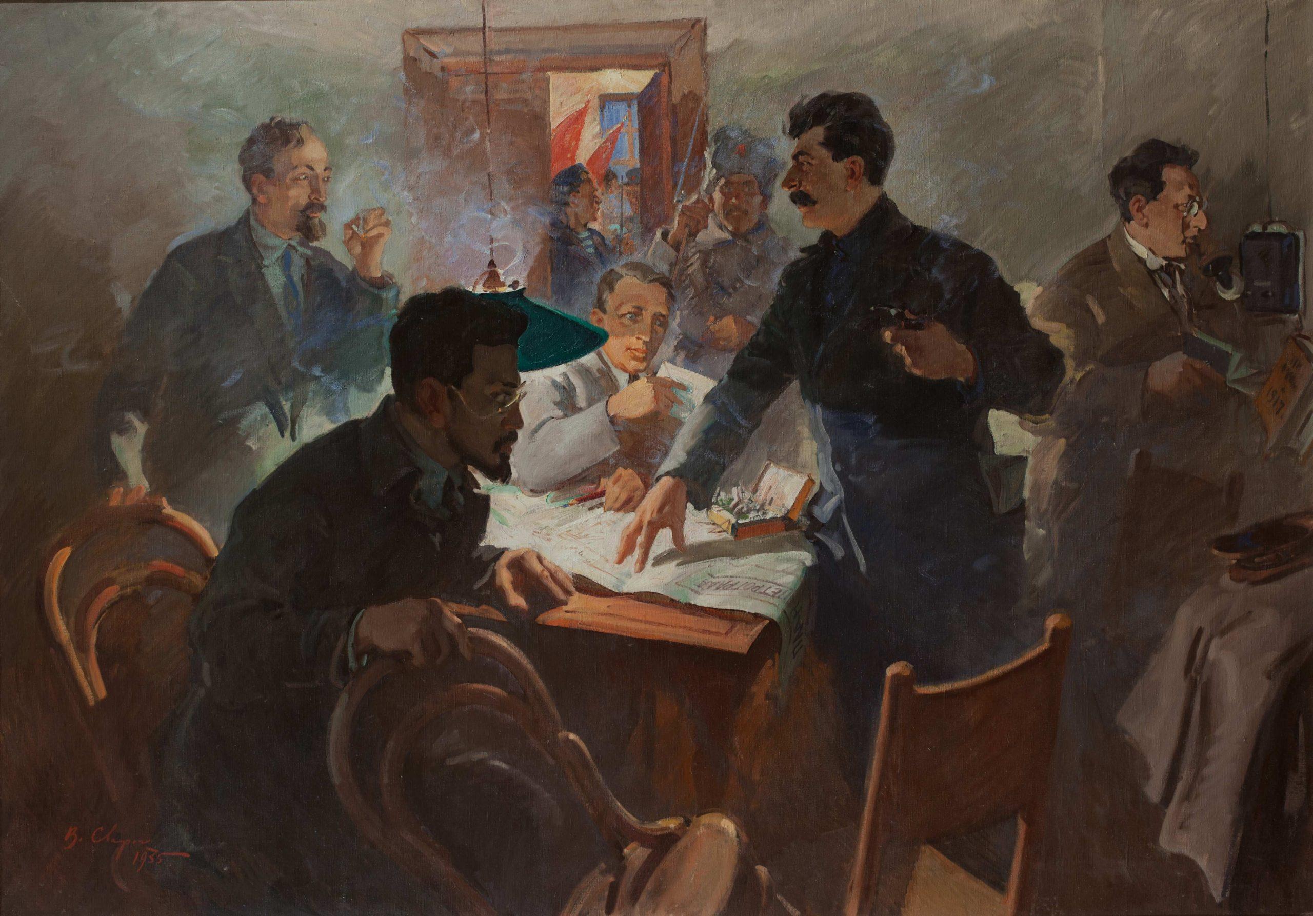 Картина «Штаб Октября» («Смольный в Октябре»)