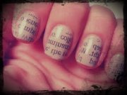 preppy hipster style nail art