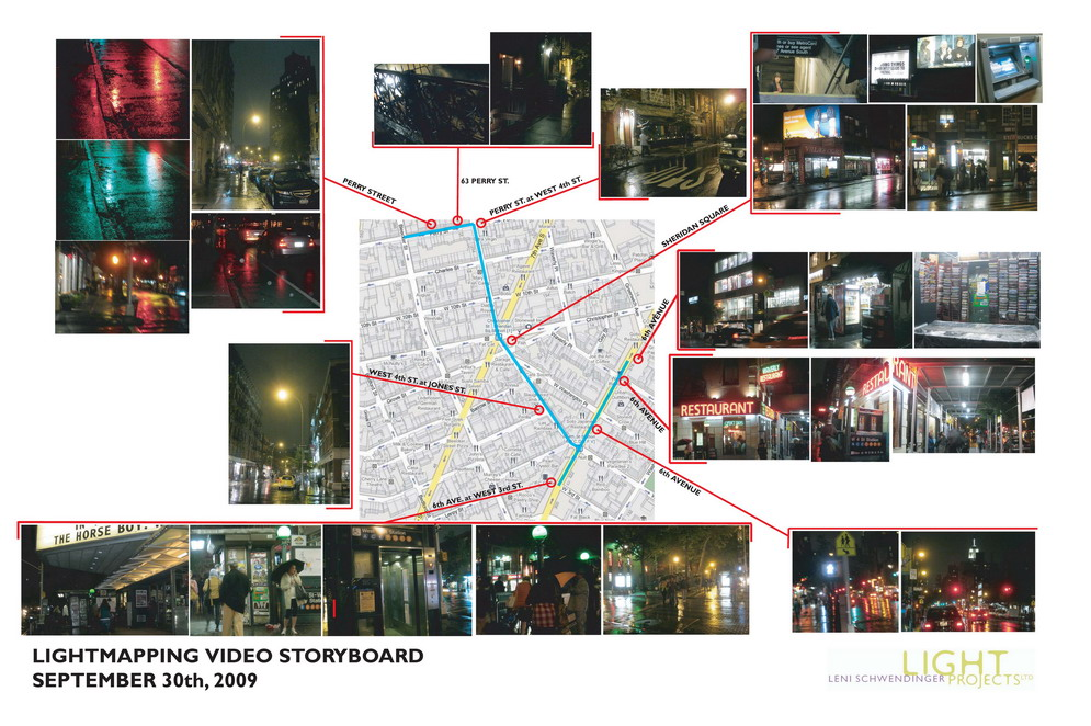 Public Lighting Video Storyboard