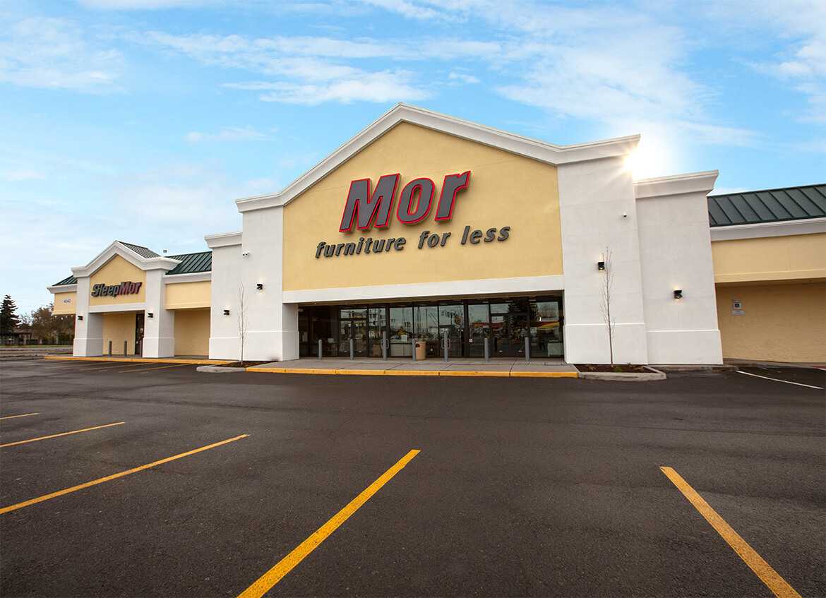 Mor Furniture for Less  Lenity Architecture