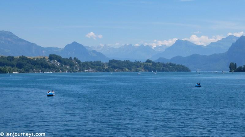 Lake Lucerne - A part of the Vierwaldstättersee