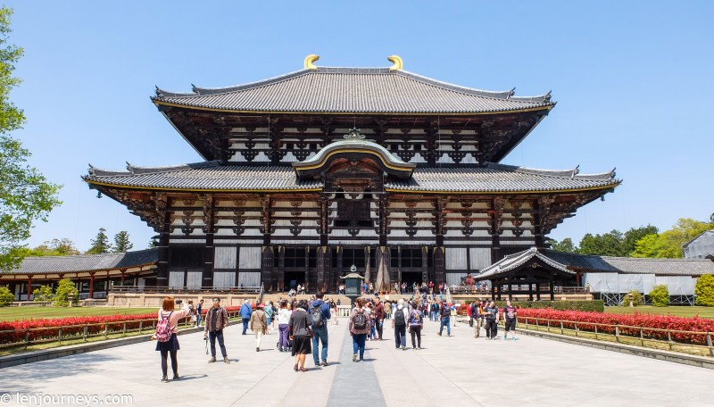 The main hall of Tōdai-ji