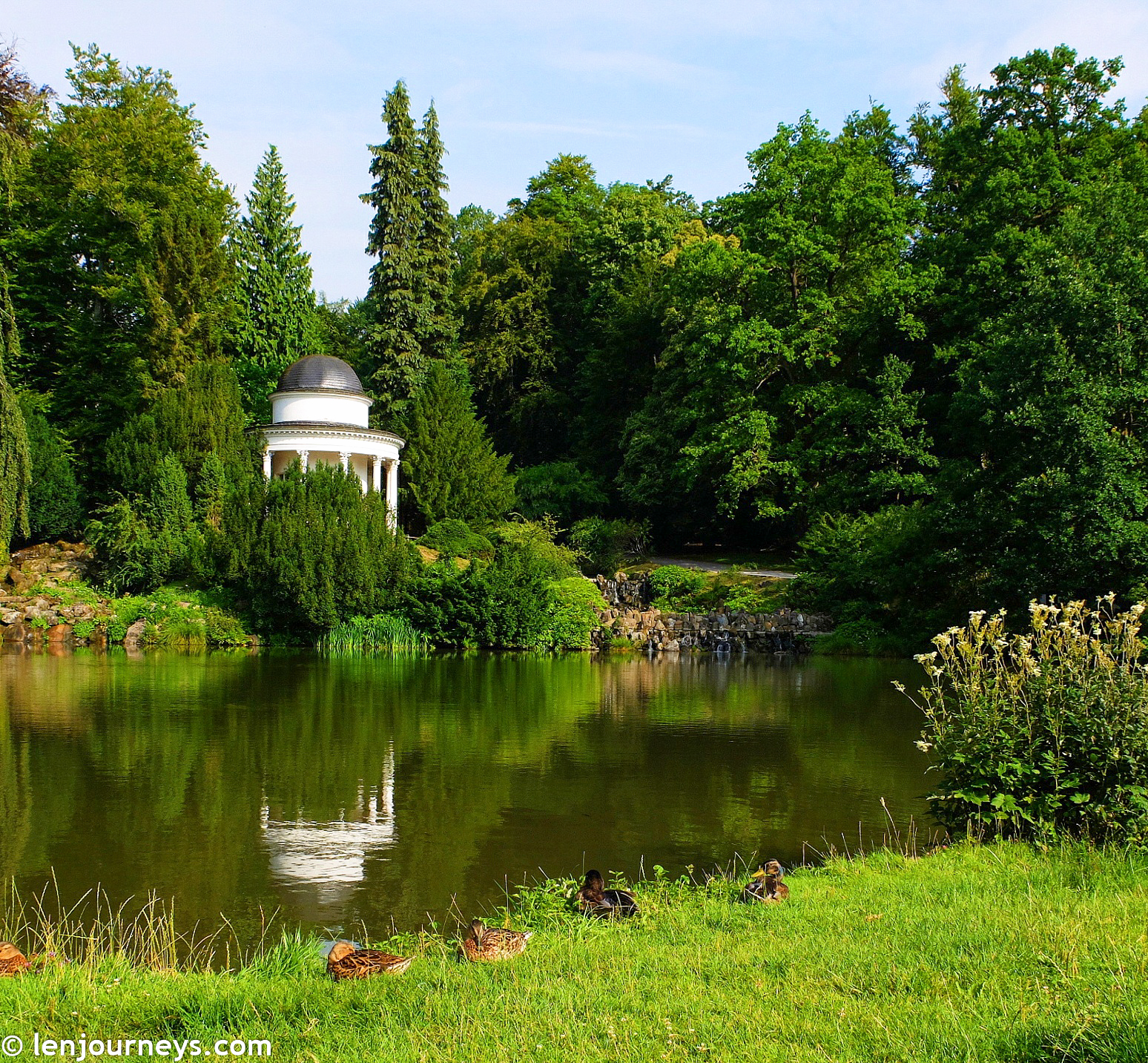 Romantic temple