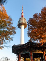 N Seoul Tower on Namsan