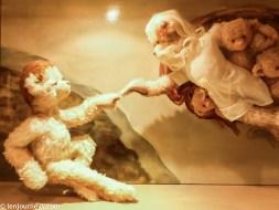 The Creation of Adam (Teddy Bear version)