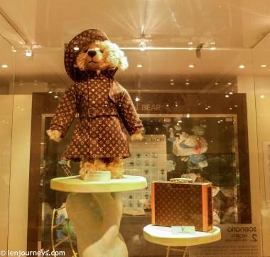 Louis Vuitton Teddy Bear