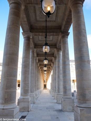 Beautiful colonnade