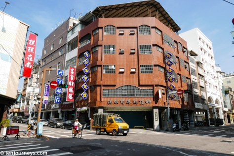 Buildings in Taichung Old Town