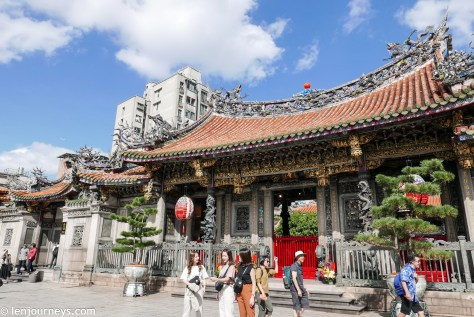 Lungshan Temple in Wanhua