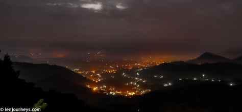 Jinlongshan before dawn