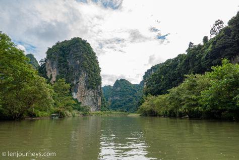Cruising on the Nang River