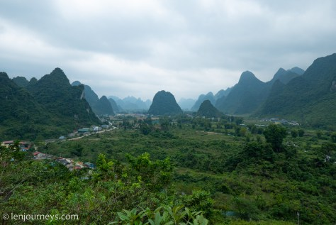 Verdant landscape of Cao Bang