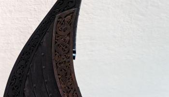 Oseberg - the best preserved Viking ship