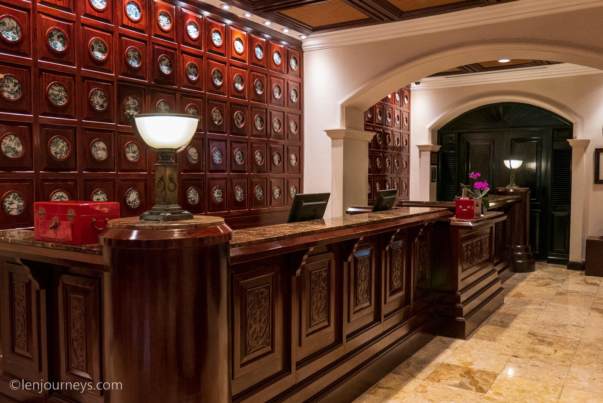 Reception area, Metropole Wing