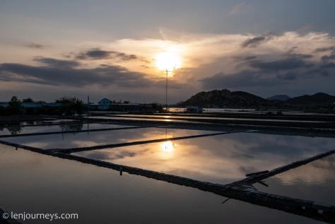 Salt flats of Ninh Thuan