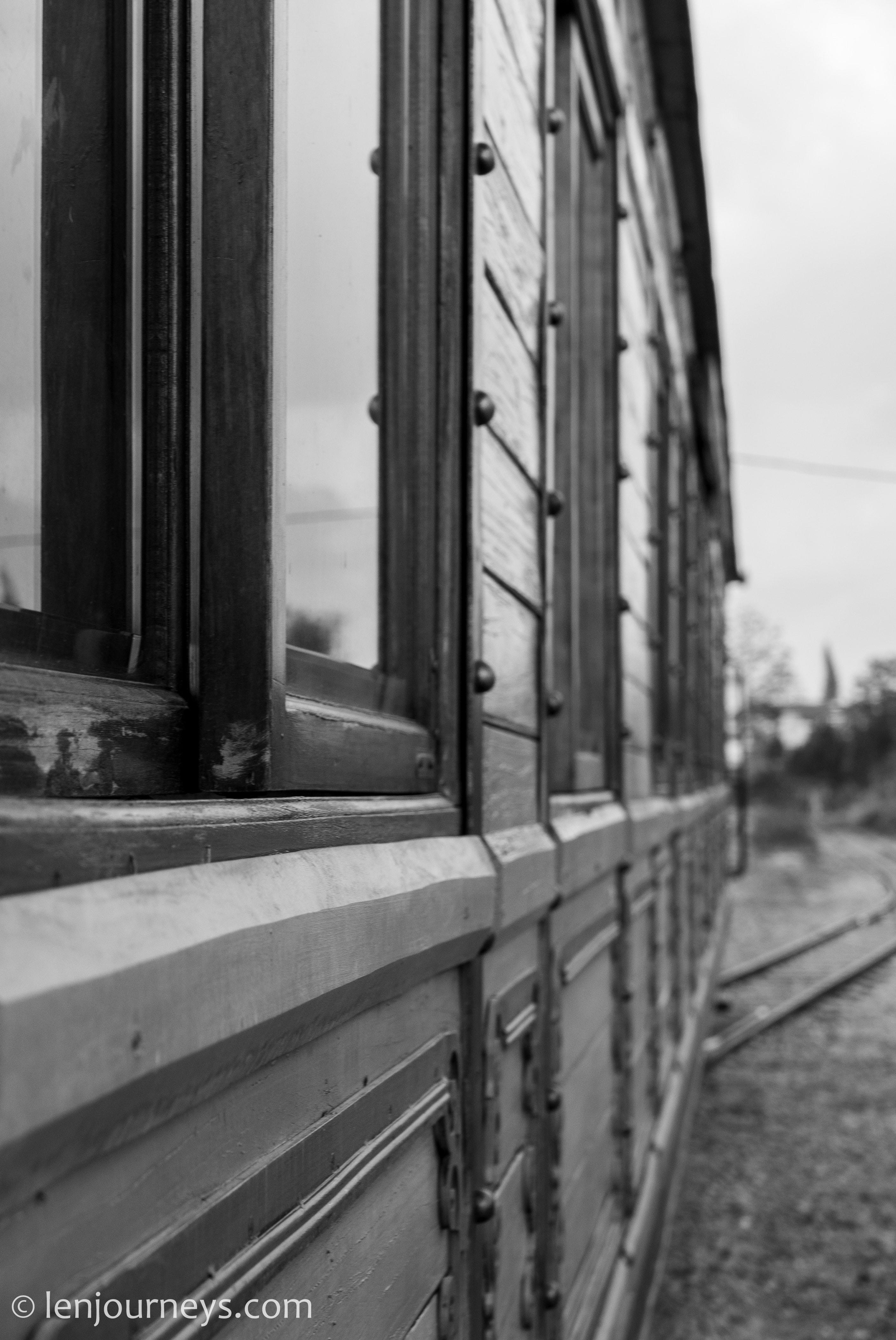 Historic train in Da Lat