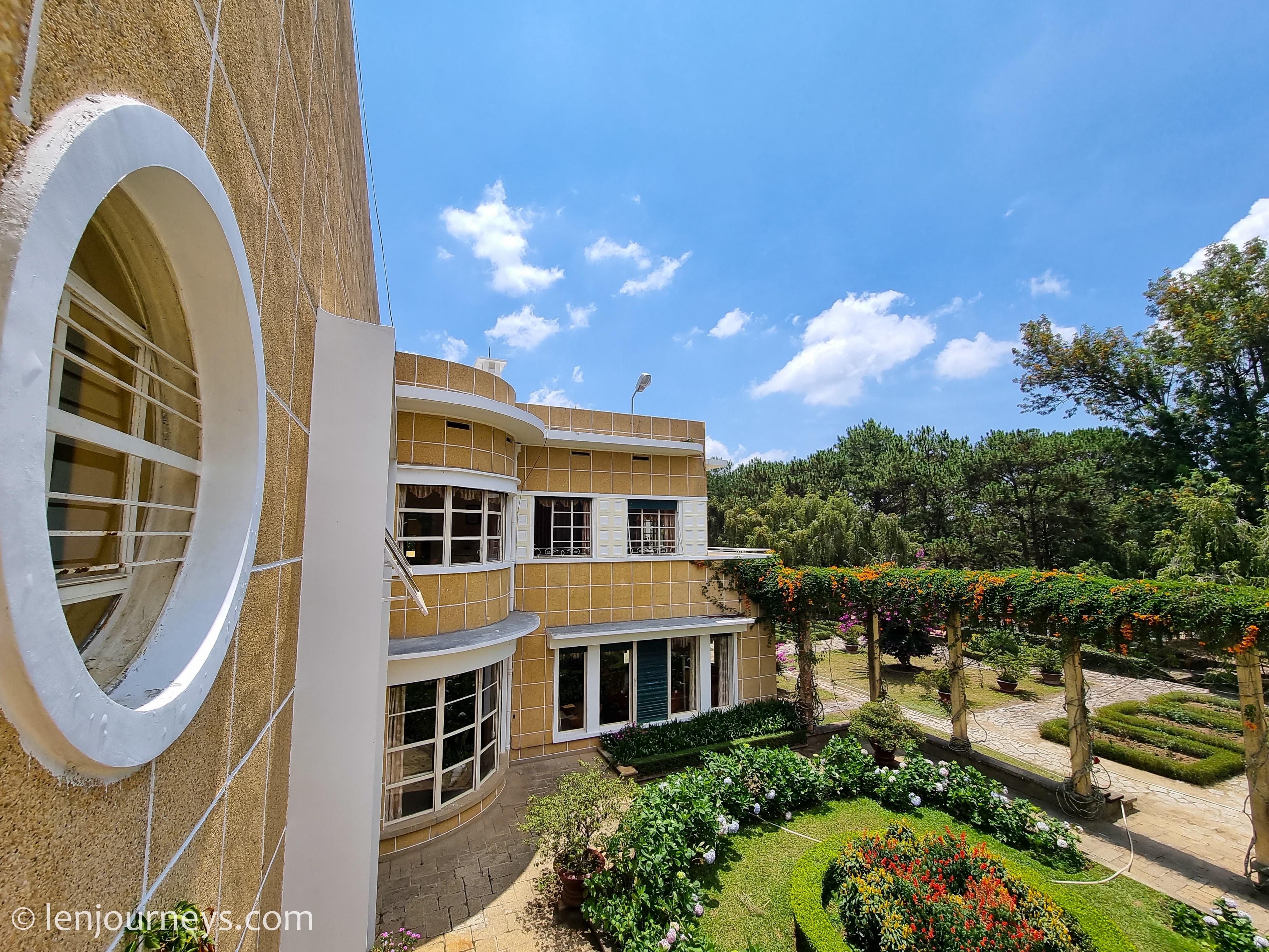 Garden of Bao Dai Residence