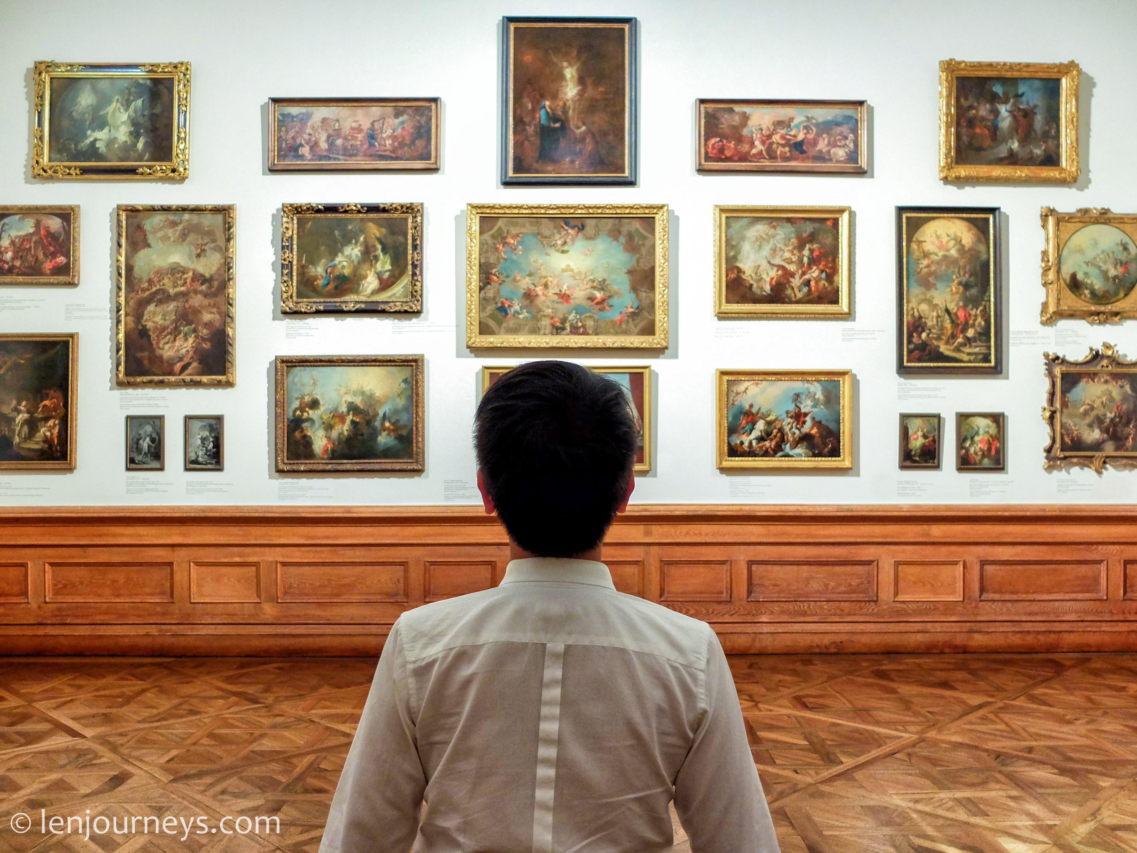Gallery in Belvedere