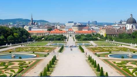 Belvedere Garden, Vienna