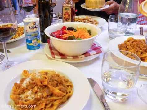 Tagliatelle al ragù - the iconic dish of Bologna