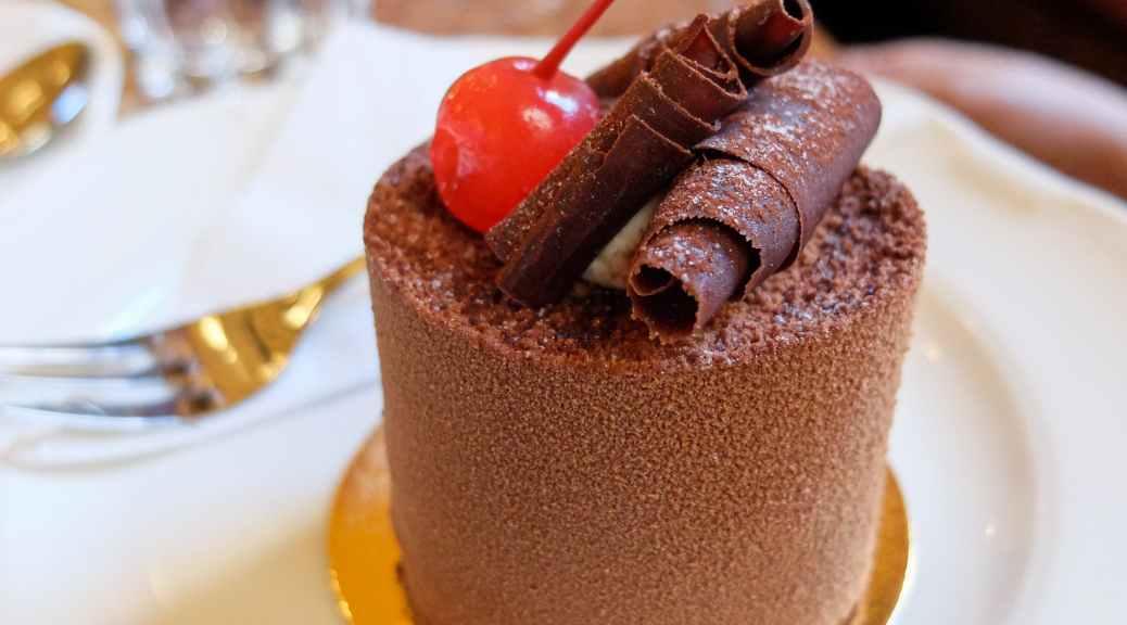 Chocolate Mousse at Café Central