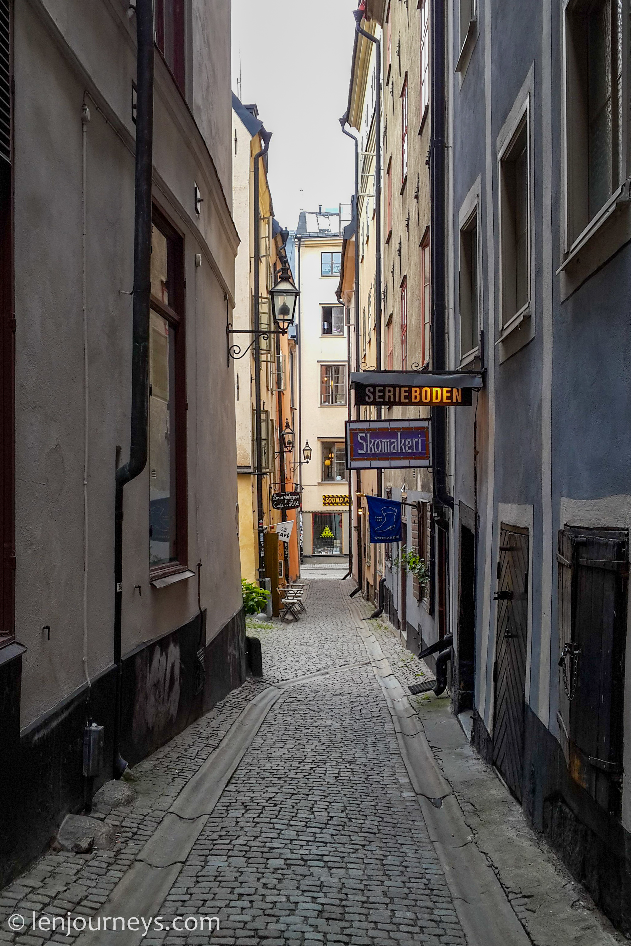 Alley in the Old Town