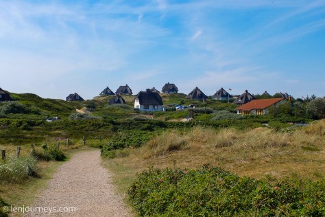 Beautiful houses in Sylt