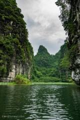 Dramatic rock formation, Ninh Binh