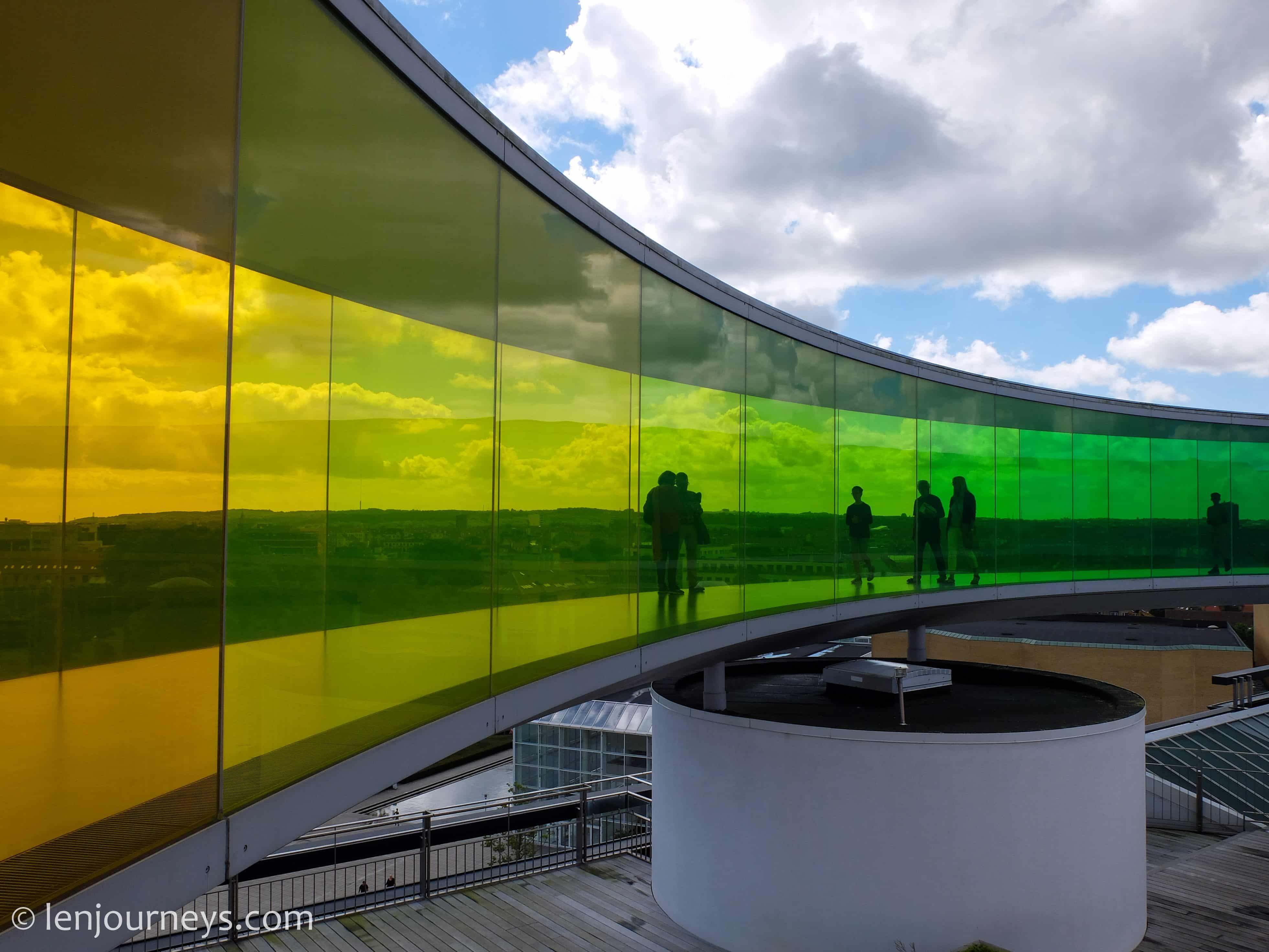 The green lane in Aarhus
