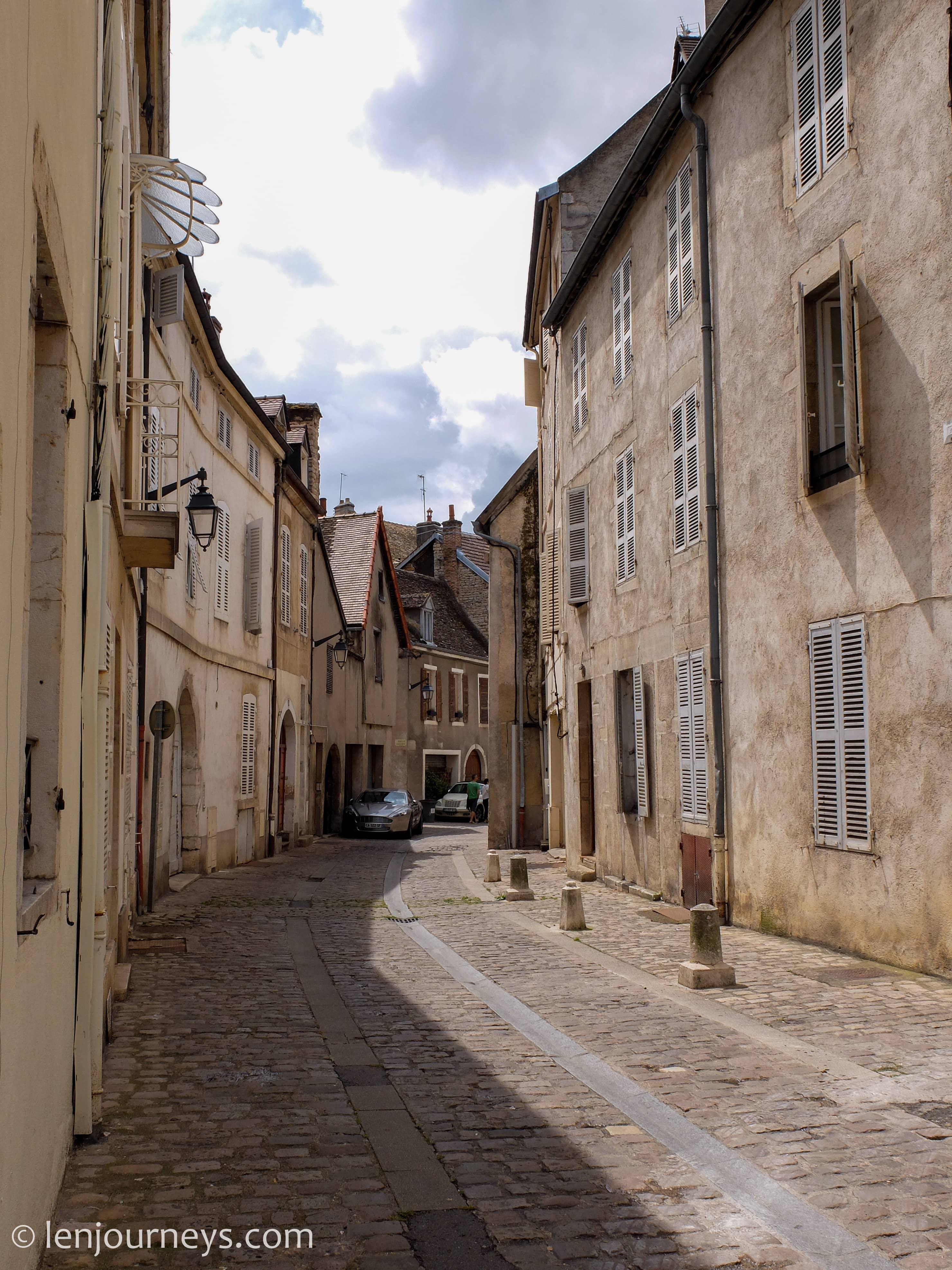Street of Beaune, Burgundy