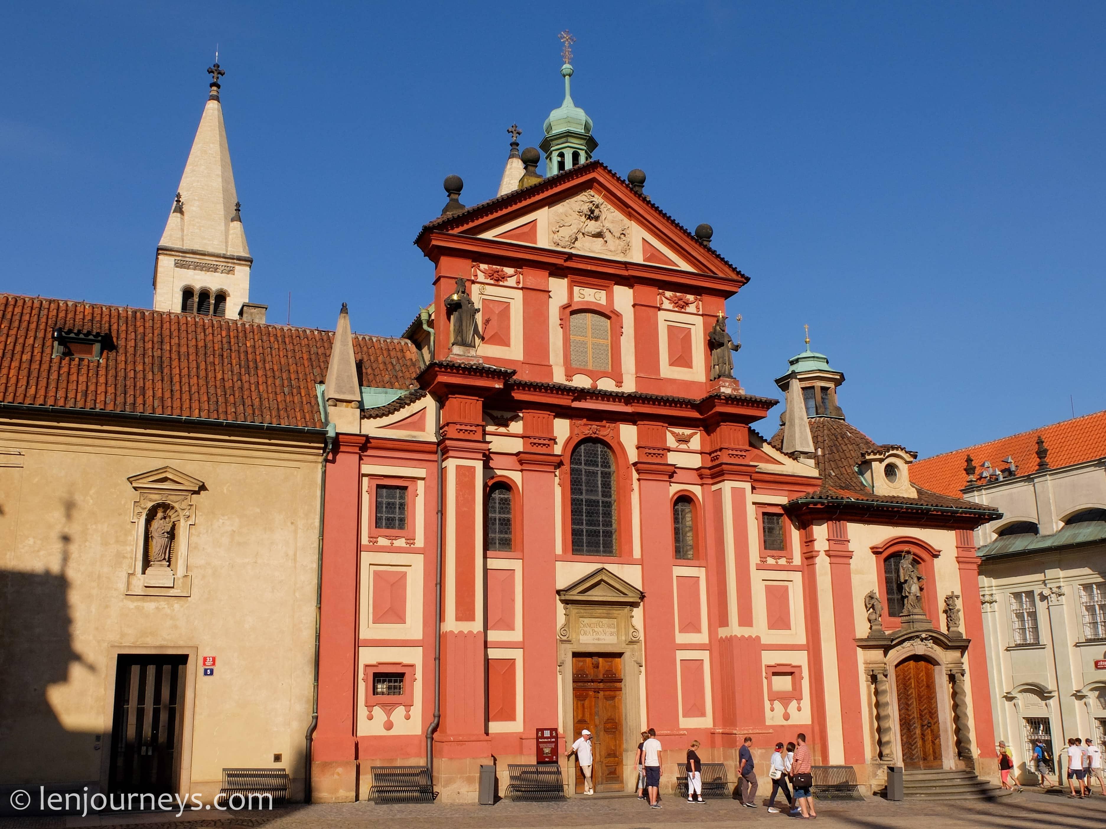 Chapel in Prague Castle
