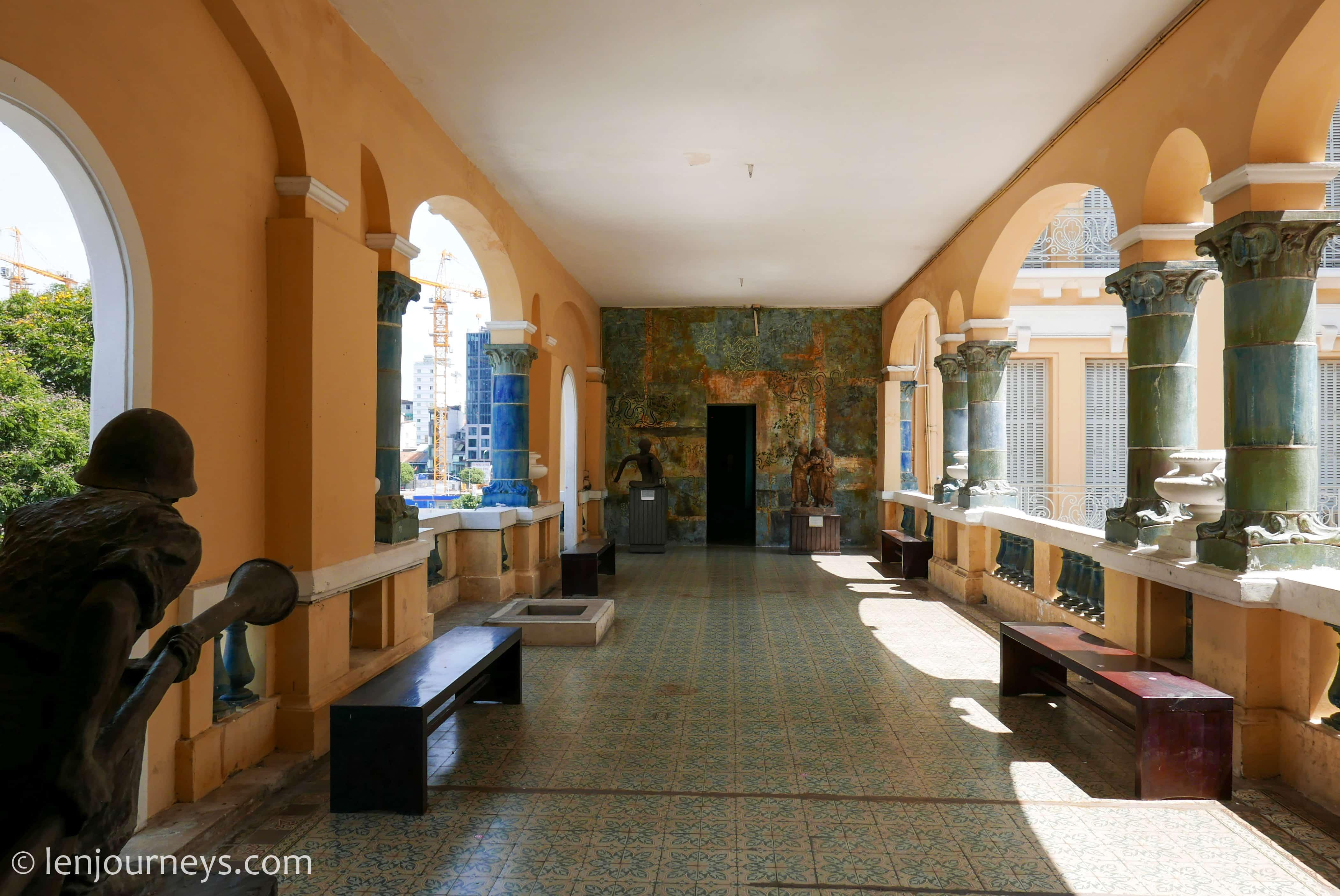 Corridor in the Museum of Fine Arts