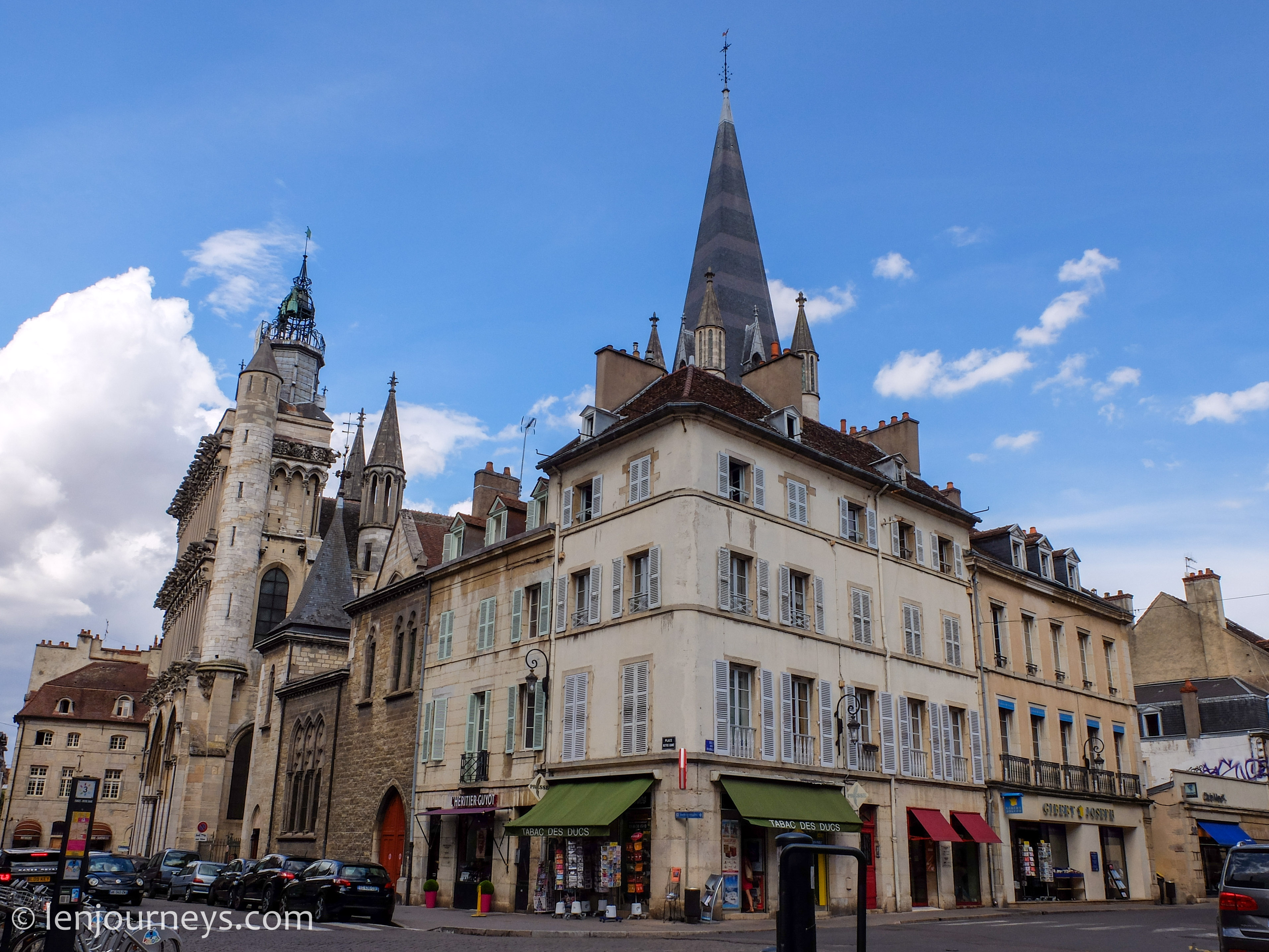 A corner in Dijon