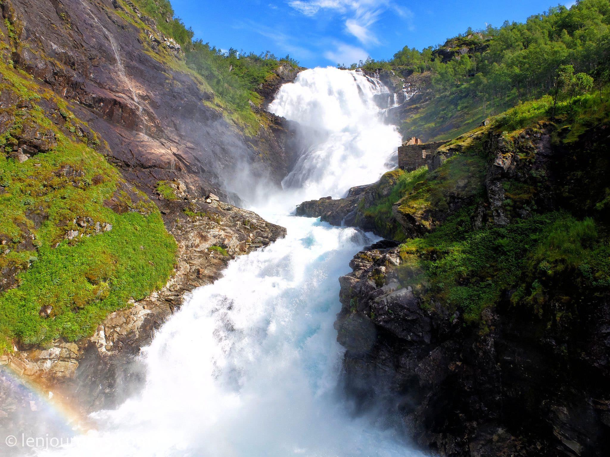 Kjossfossen, Norway