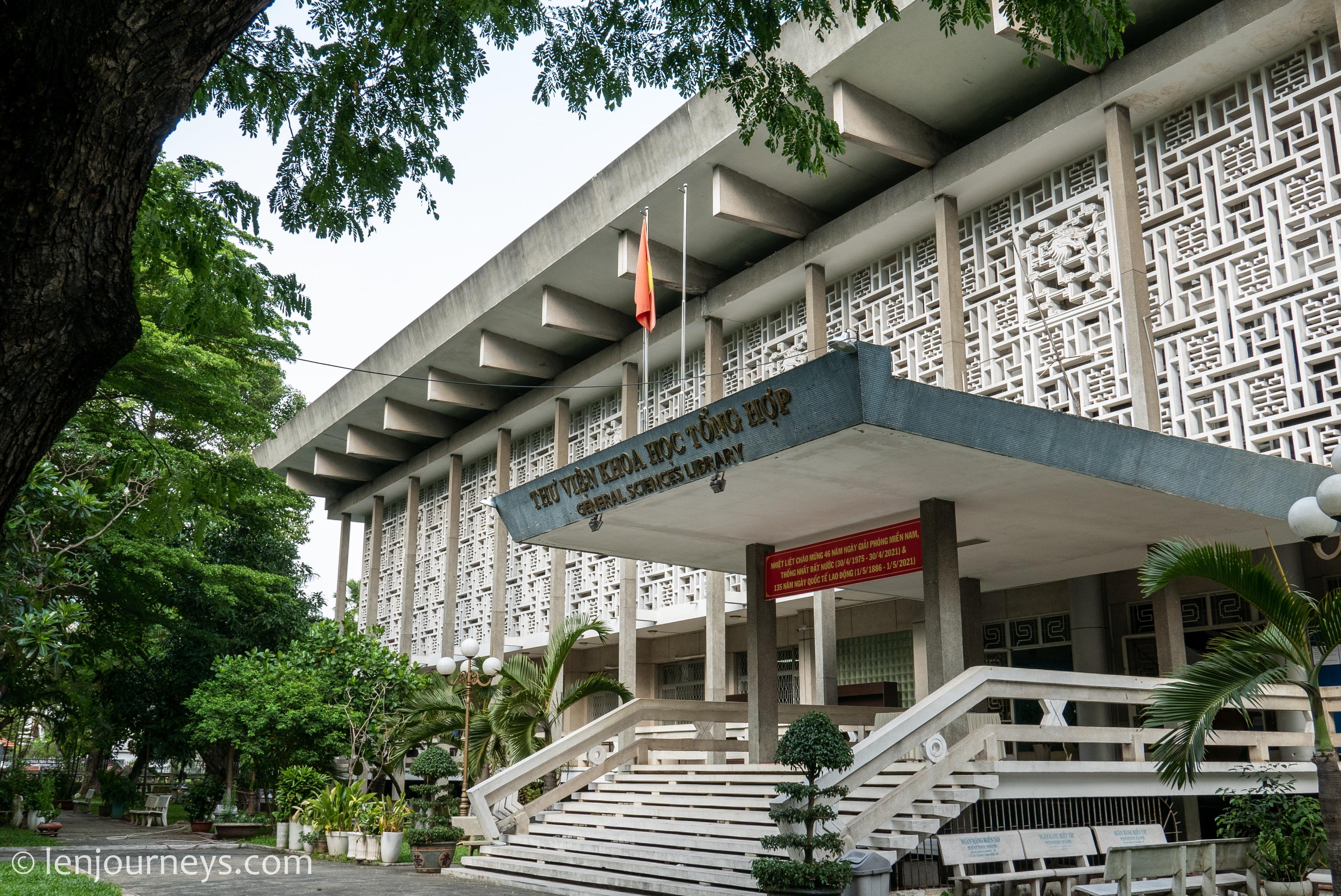 HCMC General Science Library - a hidden gem architectural gem in Saigon