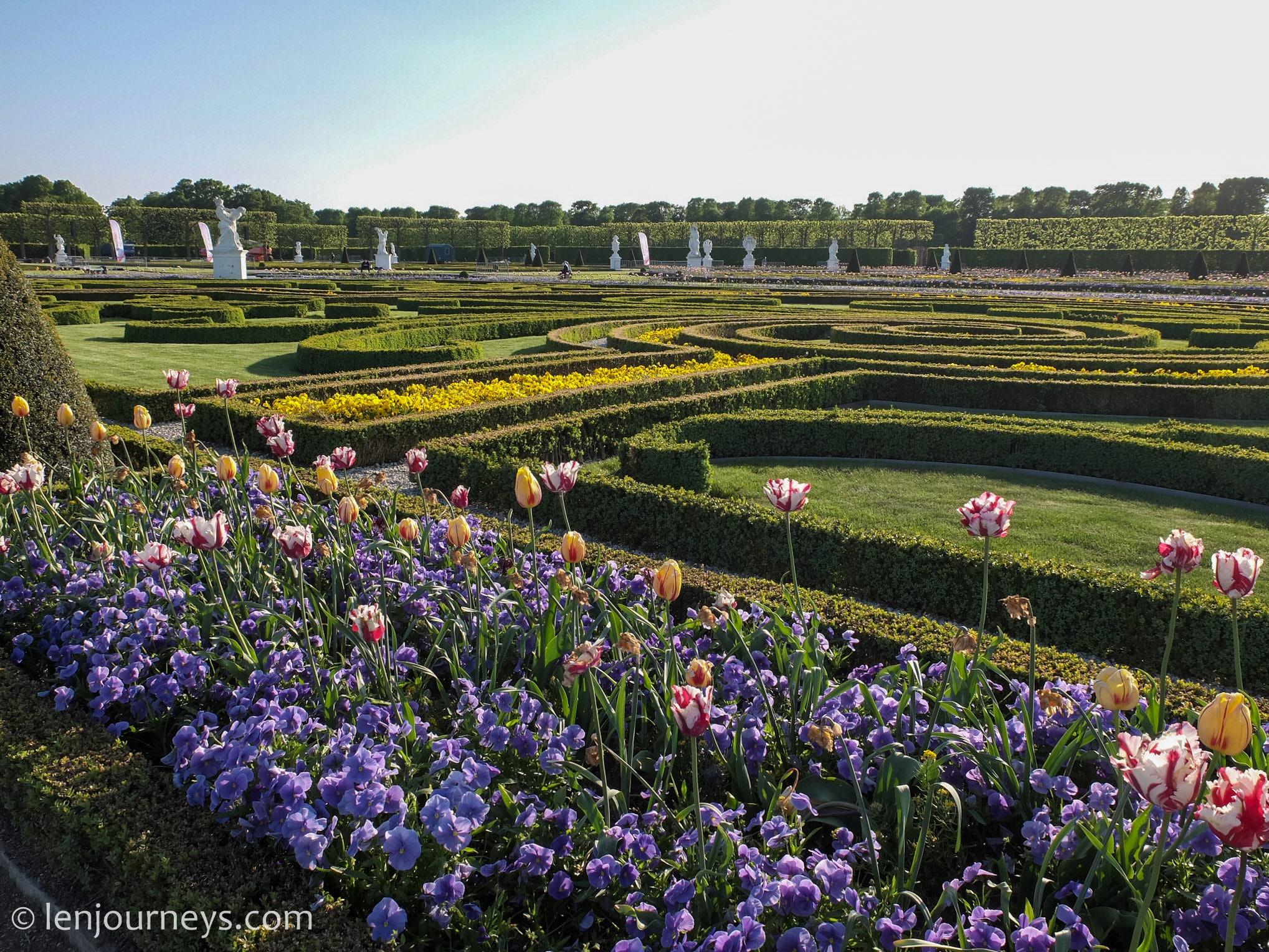 Garden art in Hanover