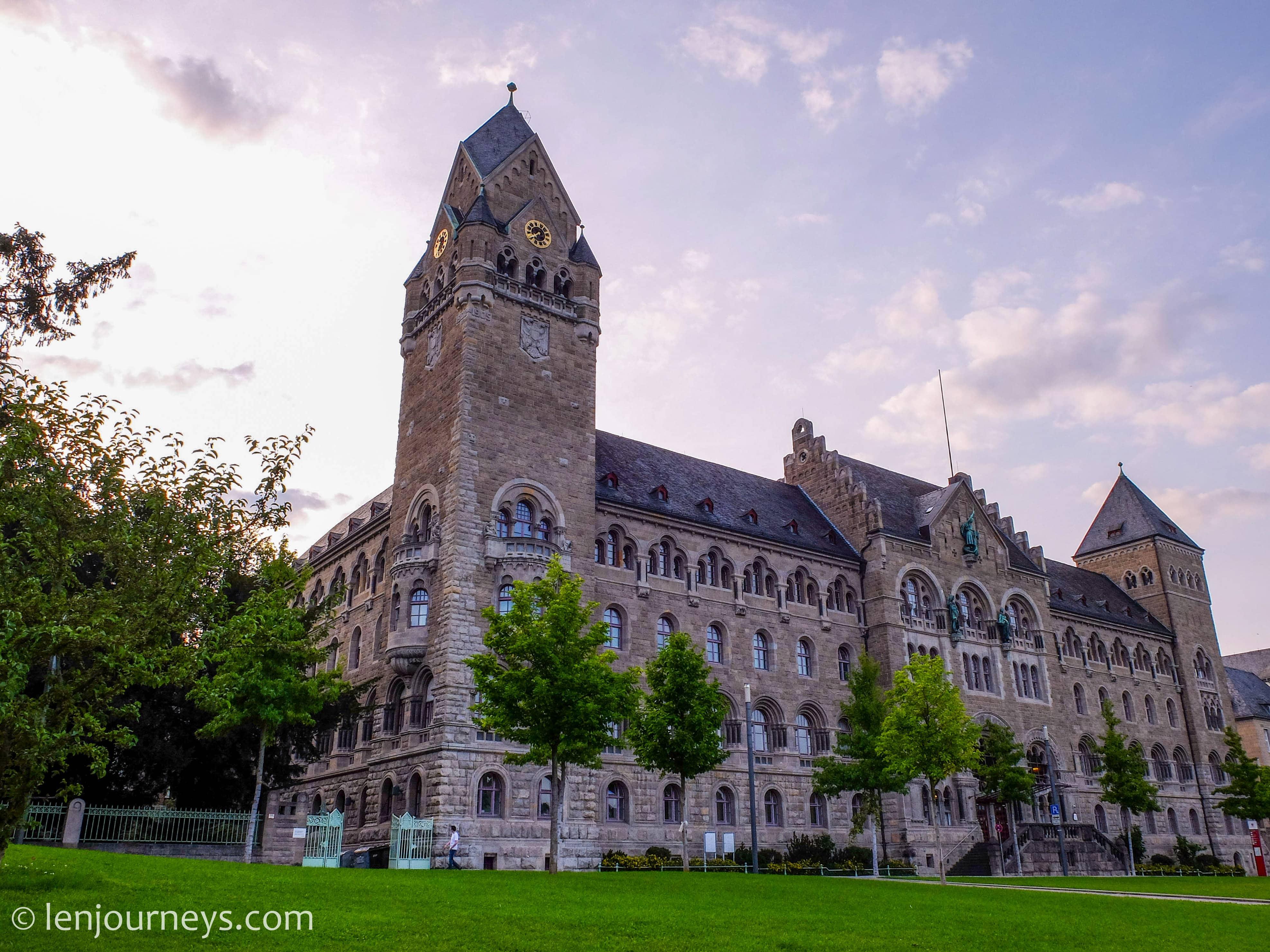 Historic building in Koblenz