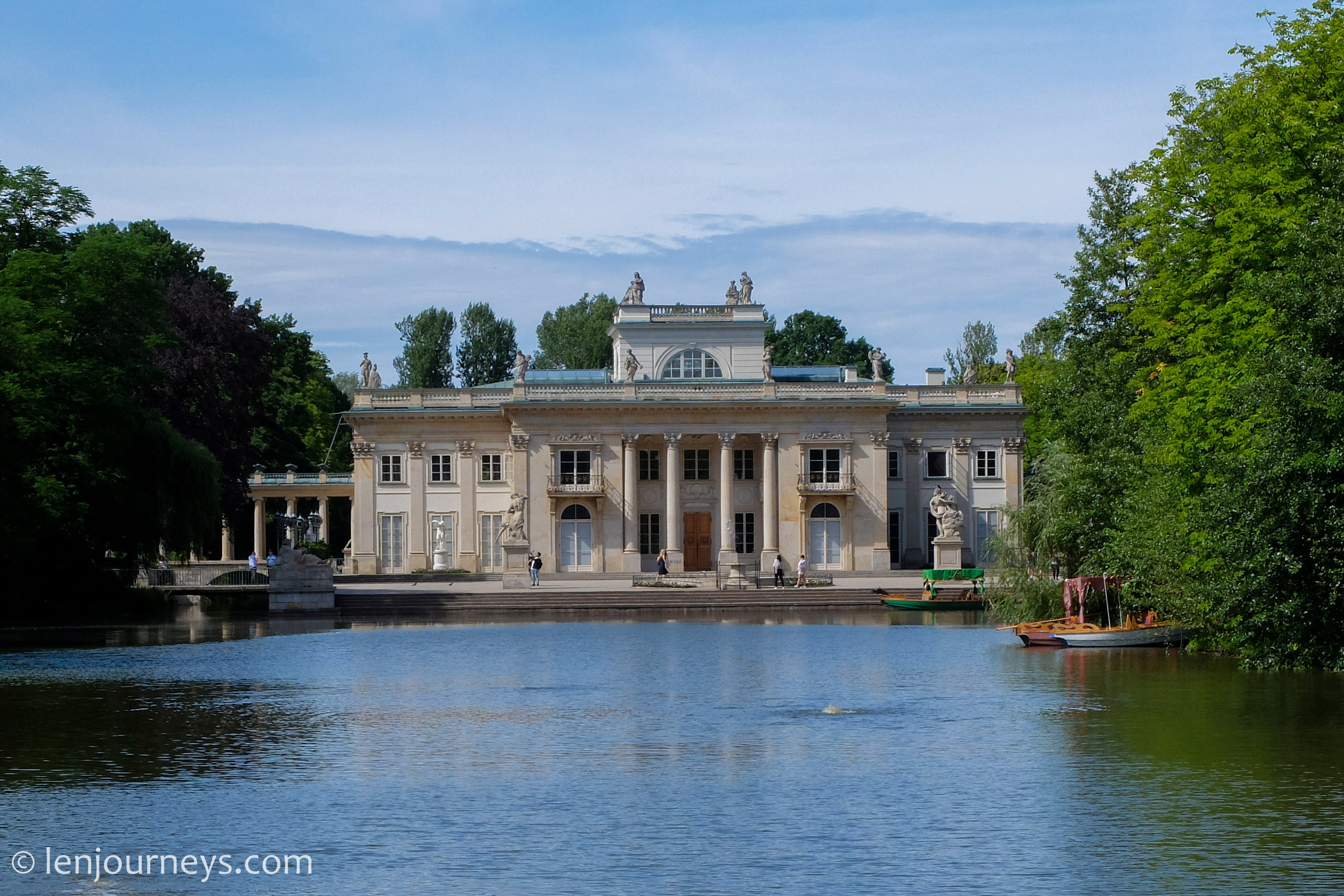 Palace in the Lazienki Park, Warsaw
