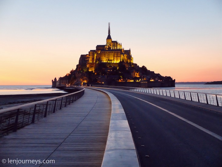 Road to Mount Saint Michael
