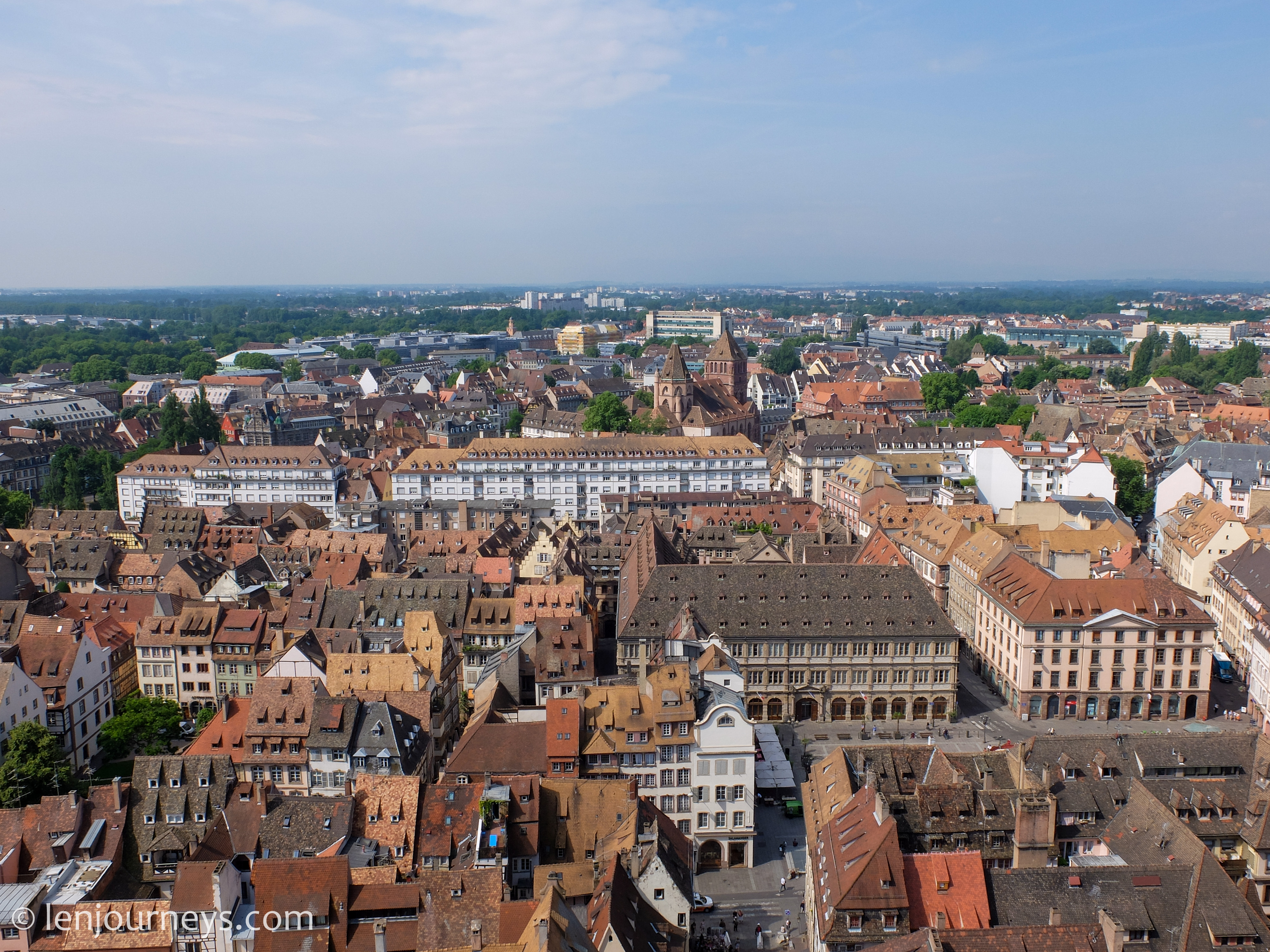 View from the top of the Cathedral