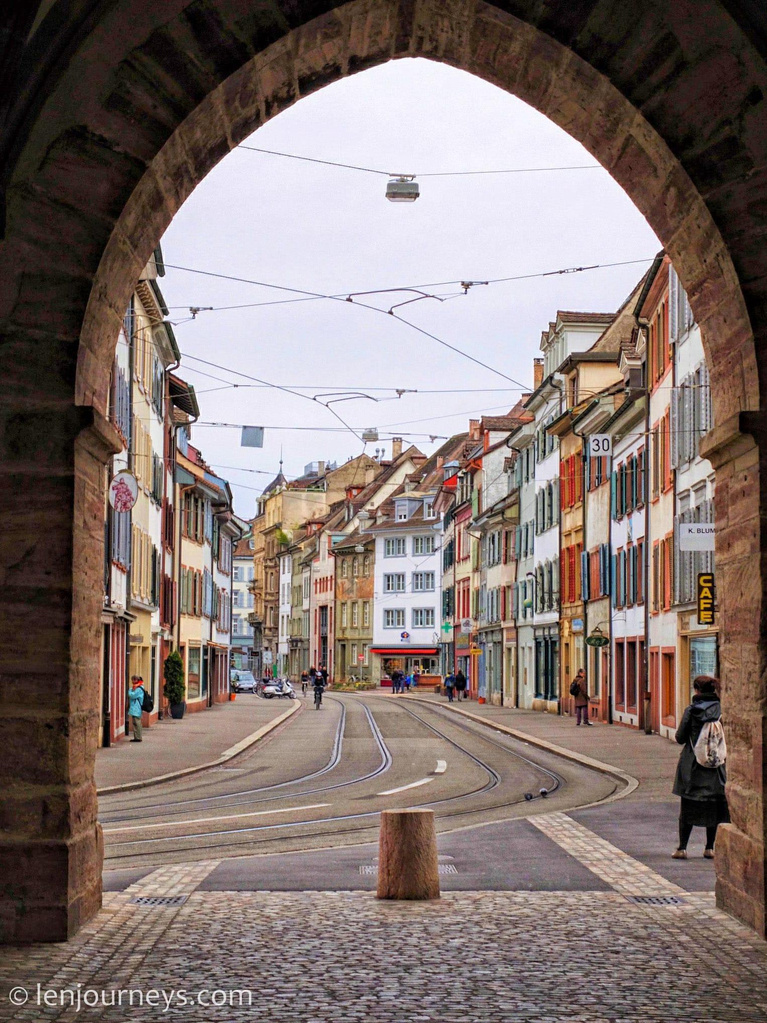Spalentor - a maginificent city gate