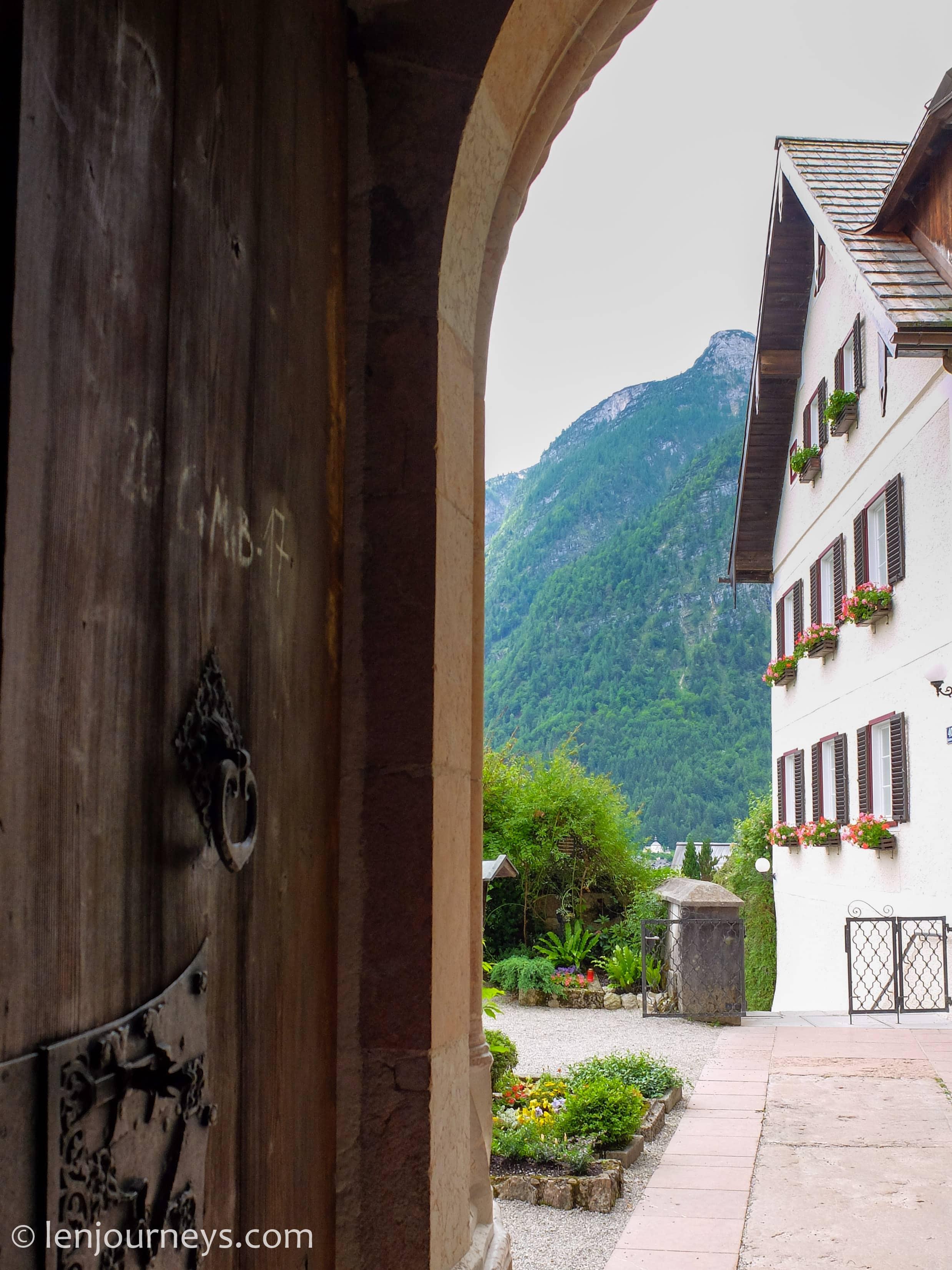 Doorway to Hallstatt