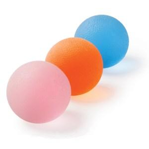gelový míček pro posilování rukou