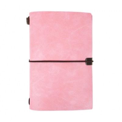 Růžový luxusní diář
