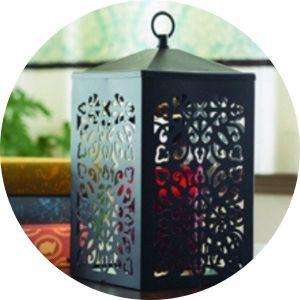 Nahřívací lampy na vonné svíčky ve skle
