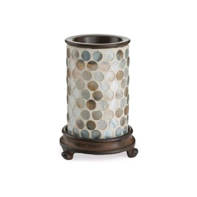 Candle Warmers elektrická aromalampa GLASS ILLUMINATION/PEARL