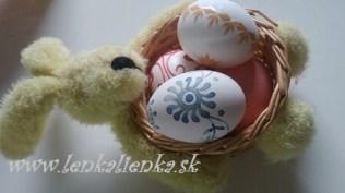 maľovanie, vajíčka, kraslice, zajac, košík