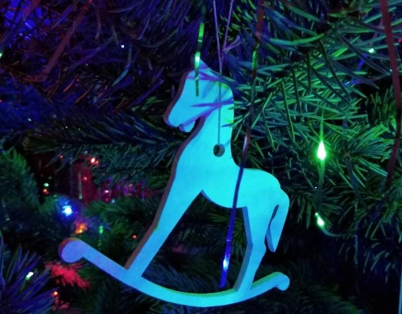 koník, Vianoce, stromček, pokoj, šťastie, láska