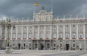 kráľovský palác, Palacio Real, Madrid, Španielsko