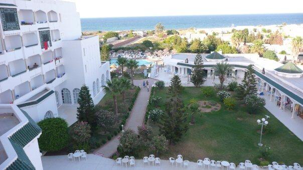Hotel Jinene, Sousse, Tunisko